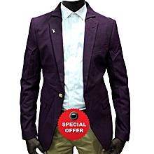 25f992d36c796 Long Sleeve Blazer - Purple