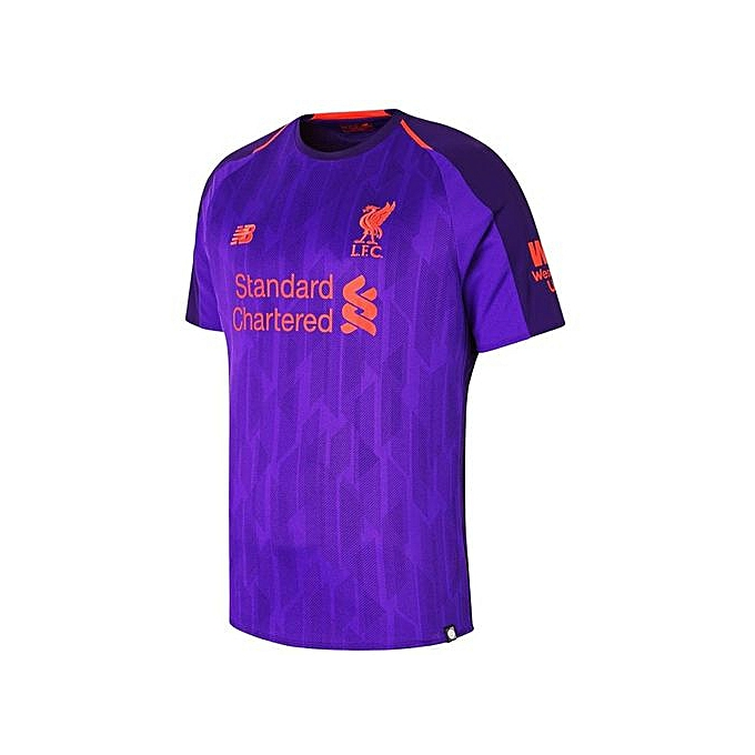 first rate b6128 21242 Replica Liverpool FC 2018/19 Away Jersey - Purple