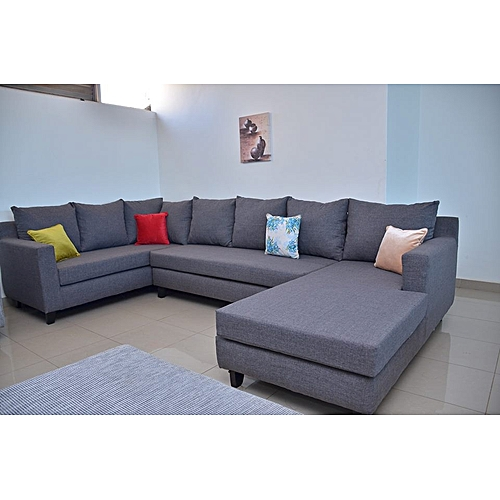 Sofa Sets In Uganda: Buy White Label U Sofa Set Sectional Sofa Large Online