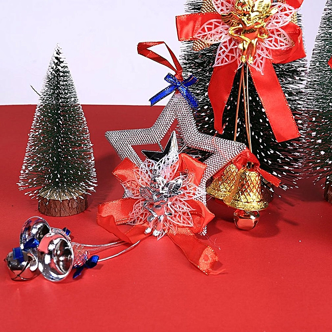 ... New Christmas decorations Christmas tree big bow tie bell big bow Decor Multi-color ...