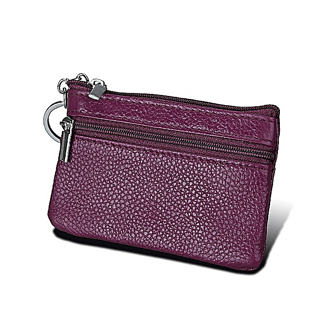 d978b24af1 Generic Mini Leather Women Wallet Candy Color Solid Lady Clutch Cuzdan Card  Holder Coin Purse Small