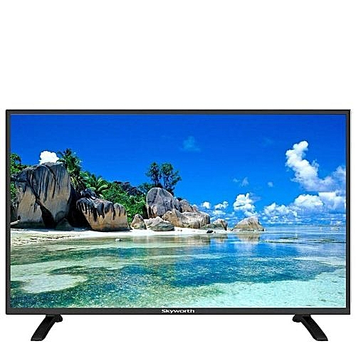 Skyworth 32 Inc, LED Digital TV, Built-in Decoder, HDMI Ports - Black
