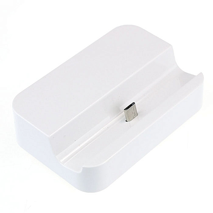 Hiamok Universal Micro USB Charging Syncing Docking Station Dock for Cell  Phone WH