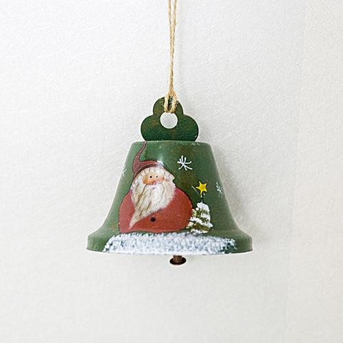 Buy Allwin Christmas bells wrought iron creative painted bells pendant Christmas decorations online | Jumia Uganda
