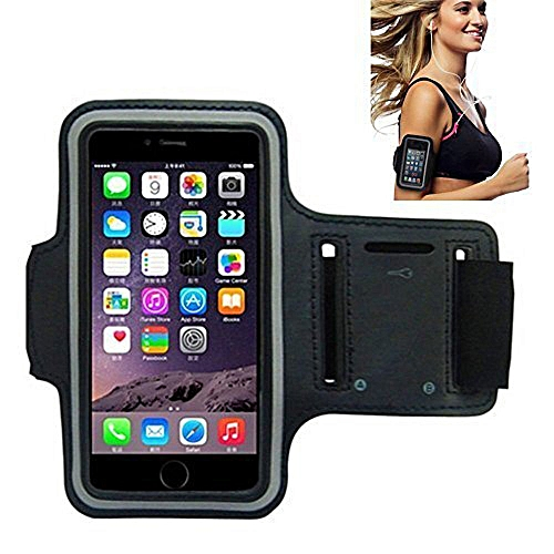 online retailer dd3eb 646a5 VUP Running Armband for iPhone X/ 8 Plus/ 8/ 7 Plus/ 7/ 6S Plus/ 6S/ 6/ 5S/  SE,180 Rotatable Sports Workout Cell Phone Holder for SAMSUNG Galaxy S8/ ...