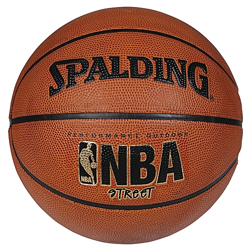 Generic Spalding Leather PU Size  7 Basketball - Light brown 703efe251a