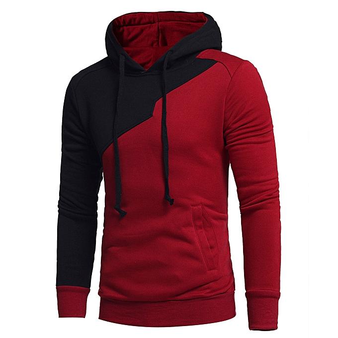 patchwork hoodie