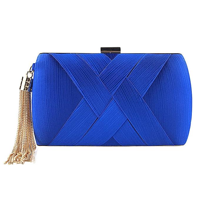 0300f6cd8976 Women Fashion Tassel Clutches Evening Bags Handbags Wedding Purse Minaudiere