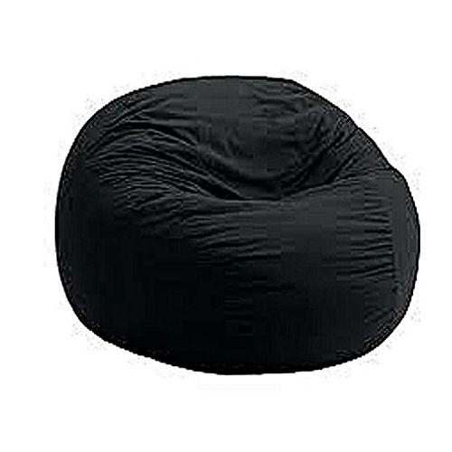 Single Beanbag Chairs In Different Fabric Colours