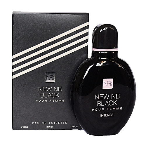 New Nb New Nb Black Eau De Parfum Spray For Women 100 Ml Jumia
