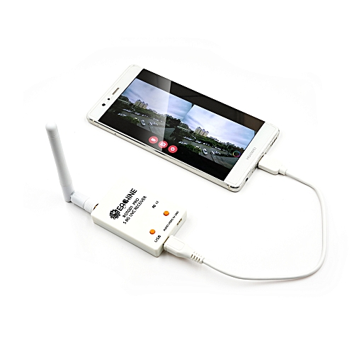 Eachine ROTG01 Pro UVC OTG 5 8G 150CH Full Channel FPV Receiver W/Audio For  Android Smartphone-Black