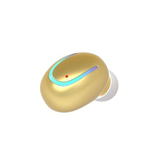 377962fe909 Buy Generic Bluetooth Earbud, Smallest Mini Invisible V4.1 Wireless Headset  Headphone Earphone With Mic Hands-Free Calls For IPhone Samsung LG HTC -  Gold ...
