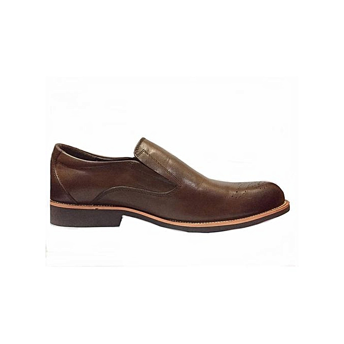 ce107309c Generic Classic Faux Leather Clarks Shoes - Brown