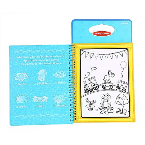 Reusable Children Coloring Doodle Activity Magic Water Drawing Book Kids  Painting Board