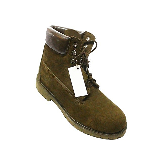 b70867dd79788 designer High Top Lace Up Boots - Green