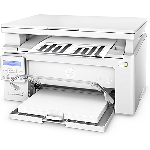 HP LaserJet Pro M130fn All-in-One Laser Printer With Print Security - White