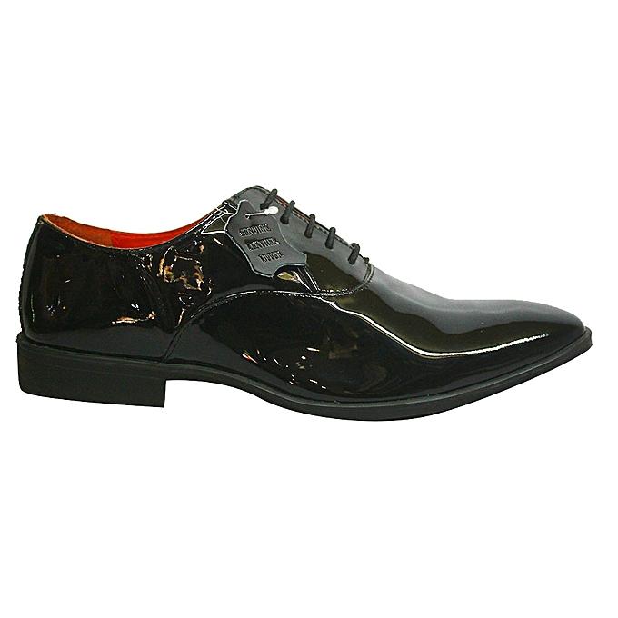 a0dbf5750e2 Ambassador Ambassador 834-6865 Patent Leather Shoes - Black