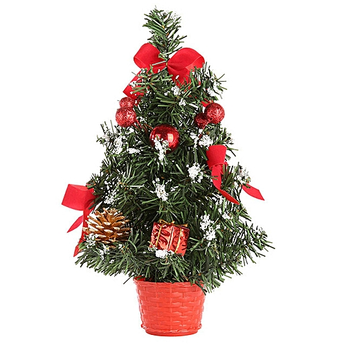 Buy Generic Artificial Tabletop Mini Christmas Tree Decorations Festival Miniature Tree 30cm online | Jumia Uganda