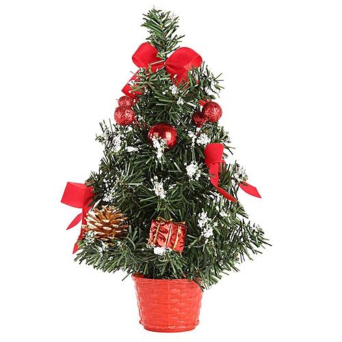 Buy Generic Artificial Tabletop Mini Christmas Tree Decorations Festival Miniature Tree 30cm online | Jumia Uganda
