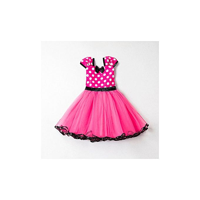 5159229054ed3 2019 New Girl Minnie Mesh Dress Cute Princess Dress