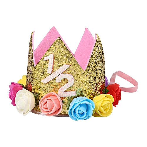 4e4abfffe Buy Generic Cute Birthday Party Crown Flower Headband Headband Hairband  Accessories For Baby Girls #3 online | Jumia Uganda