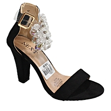 a172a29b02b Next Ankle Strap Heel Sandals - Black