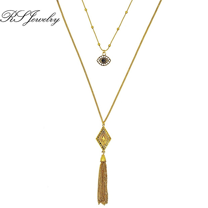 7da7c8ec618abc Buy FASHION Lady Necklace Women Pendant Bohemian Ethnic Style Choker ...