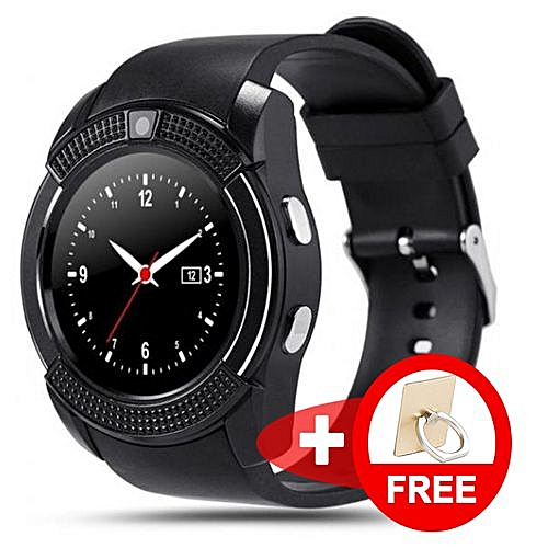 adc4475ffe886d Buy Genuine 2019 V-Series Advanced Intelligent Multi-functional Touch  Screen Bluetooth Smartwatch / Wristband Plus A Free Stylish Phone Ring  Holder ...