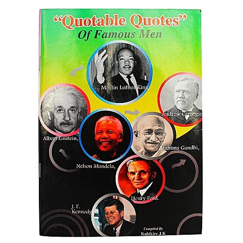 Image of: Life Quotable Quotes Of Famous Men Jumia Uganda Life Hacks Quotable Quotes Of Famous Men Jumia Uganda
