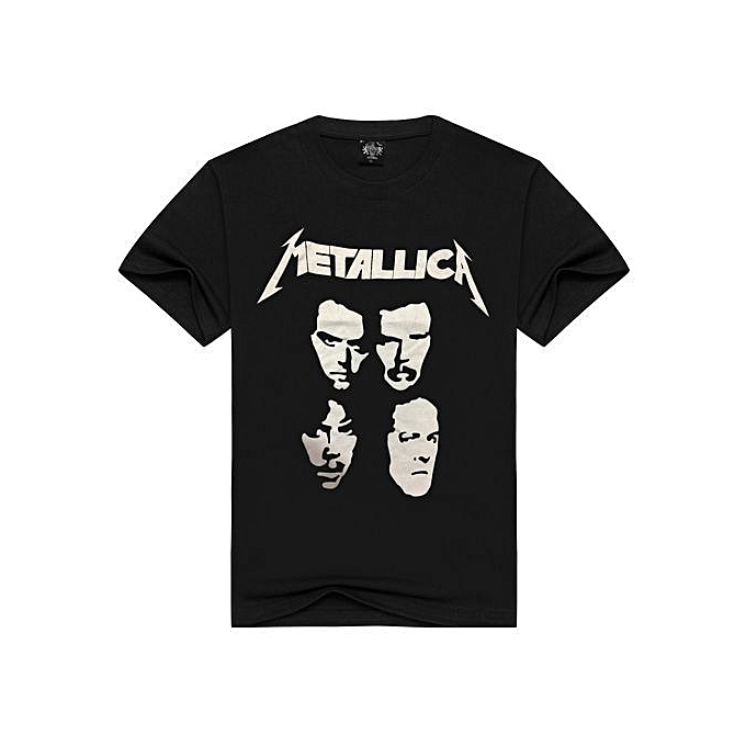 a81267c8106 Generic Stylish Metallica Metal Band Printing Men s Rock T-shirts ...