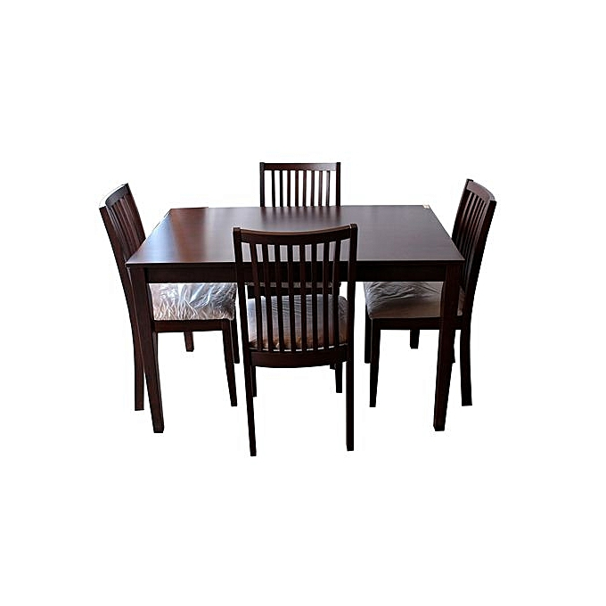 Sofa Sets In Uganda: Buy - 4 Seater Dinning Table - Brown Online