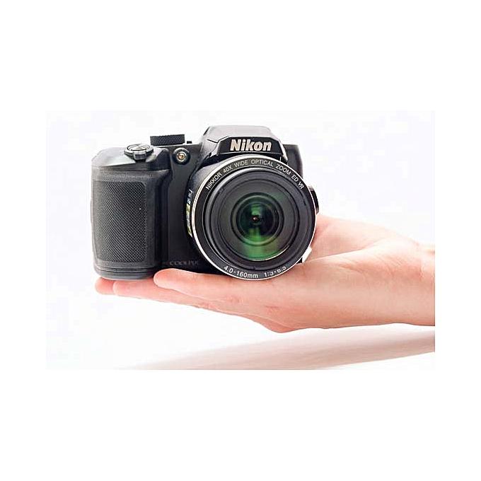 Nikon Coolpix B500, 16 0 Mega pixels, Wide 40x zoom NIKKOR, 7 5cm/3-In VGA  Tilt LCD, Full HD Movie, Snap Bridge, Connect to Your smart device