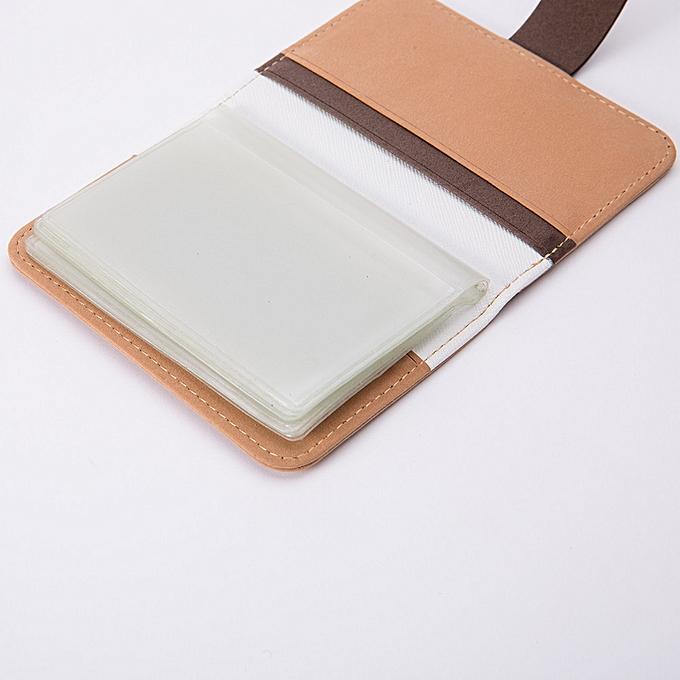 the best attitude c48d8 1dc0a Haimok Men Women Leather Credit Card Holder Case Card Holder Wallet  Business Card KH