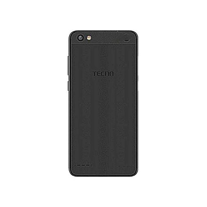 Tecno F3 (POP 1) - 1GB RAM, 8GB HDD, 5MP Dual Flash Camera , Dual SIM -  Black