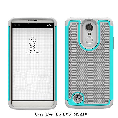 save off 1eb46 8dccb Hiamok Case Back Hybrid Cover For LG Aristo LV3 V3 MS210 LG M210 LG MS210 MG