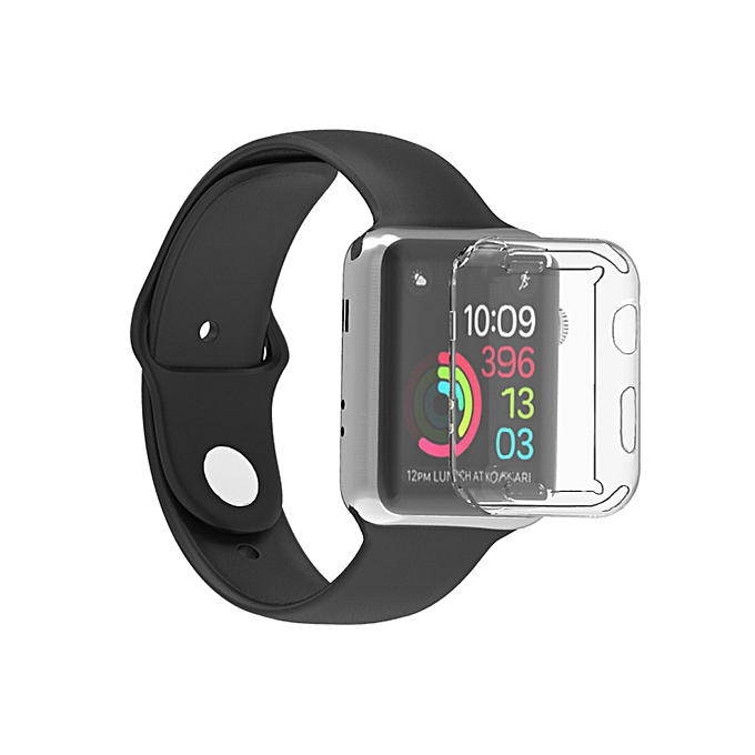 best loved b577f 4eba4 Ultra-Slim Electroplate Soft Case Cover For Apple Watch Series 3 42mm CL