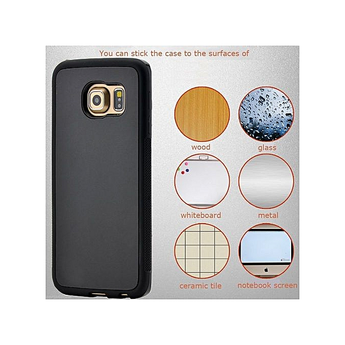 new product 0e800 4341e [10 Pack] Samsung Galaxy S6 Edge Case,Galaxy S6 Edge Case,S6 Edge Anti  Gravity Case Anti-Gravity Magic Selfie Sticky Nano Protective Shockproof  Case ...