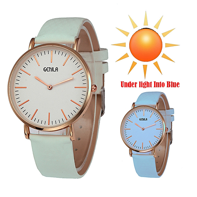 Womens Fashion Classic Temperature Change Color watch Wrist Watch