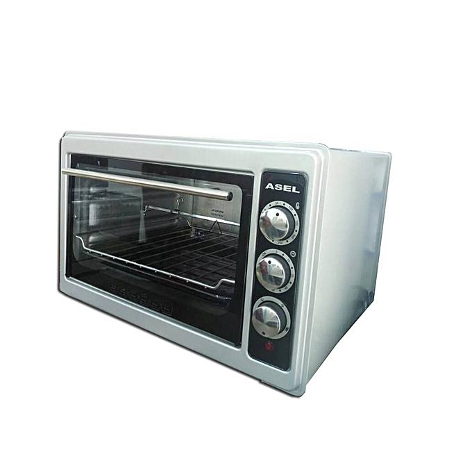 asel asel 33ltrs blue flame mini oven silver jumia uganda. Black Bedroom Furniture Sets. Home Design Ideas
