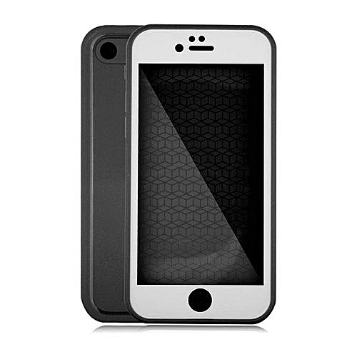 premium selection c3af7 fa61e Waterproof Phone Cases For IPhone 7 Plus Thin Shockproof Hybrid Rubber Soft  Silicon TPU Touch Swimming Case Back Cover For Iphone 7 Plus - BlackWhite