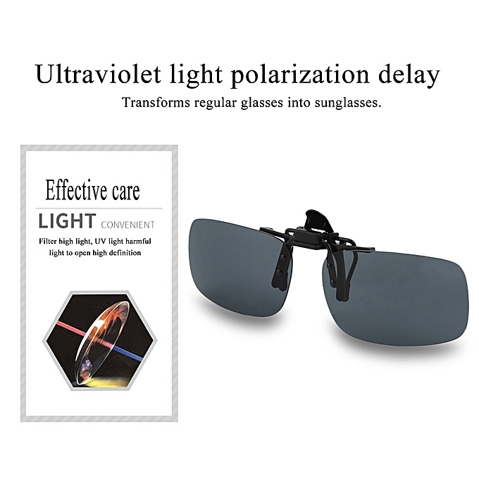 707846afcf28 Buy FASHION Driving Night Vision Flip-up Lens Cool Eyewear Clip On ...