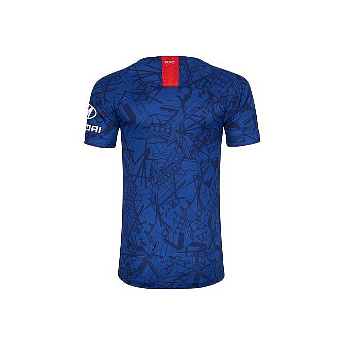 wholesale dealer b6a3e 85d3b Replica Chelsea FC 2019/20 Short Sleeve Jersey - Blue