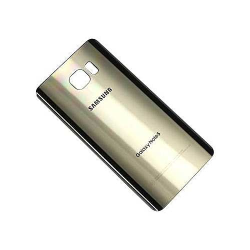save off df9a0 38f44 Replacement Battery Cover For Galaxy Note 5 - Golden