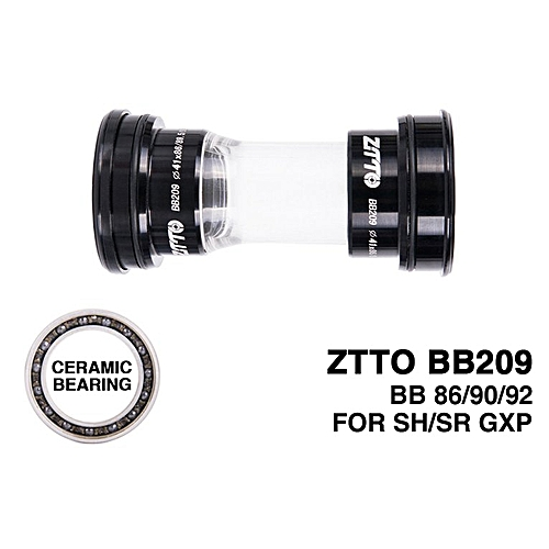 Ceramic Bearing BB209 BB92 BB90 BB86 Fit Bottom Bracket for Road Mountain  Bike black