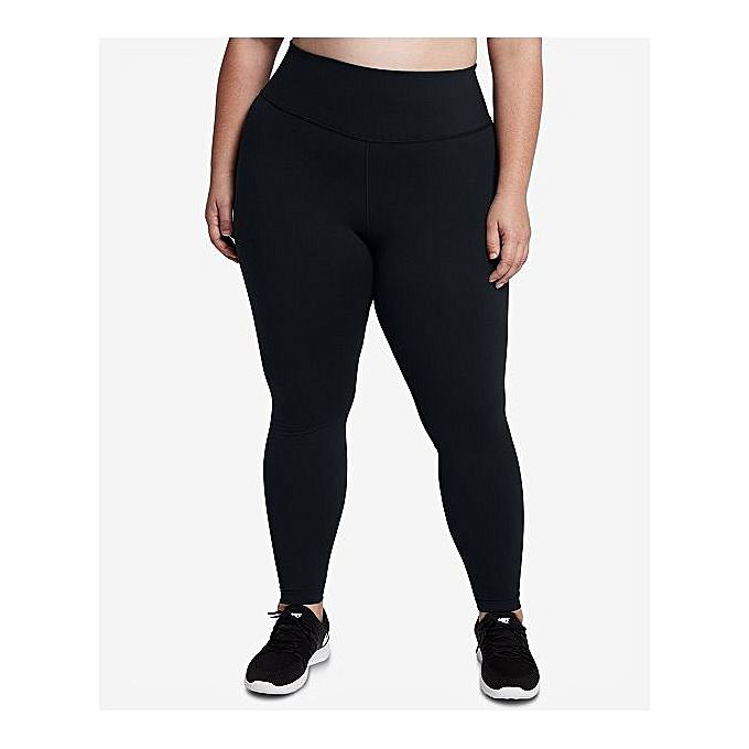 52a4756a943 designer Plus Size Cotton Leggings - Black