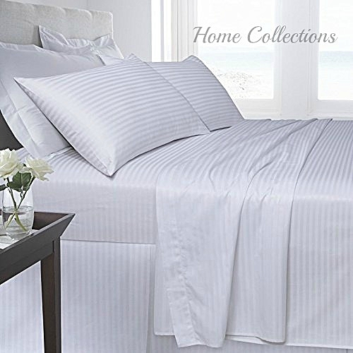 6*6 Pair Of Satin Bedsheets With 2 Pillow Cases