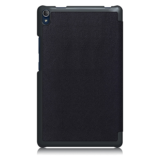 super popular 3d952 975aa Stand Painted Leather Case Cover For Lenovo Tab3 8 Plus TB-8703F 8inch BK