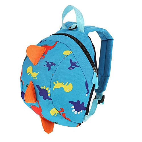 2aa49071402 Cute Cartoon Dinosaur Baby Safety Harness Backpack Toddler Anti-lost Bag  Children Schoolbag