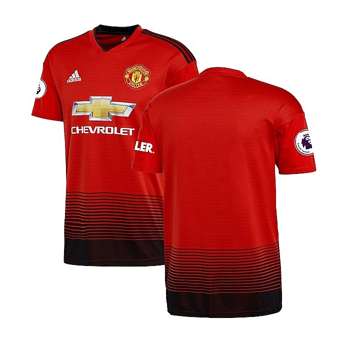 e02f15040 Generic Replica Manchester United Short Sleeve T-Shirt - Red