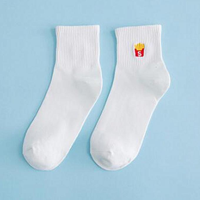 50235a8c0f92 Buy FASHION Cartoon Pattened Men Women Couples Short Socks Fashion ...